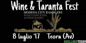Wine & taranta fest, concerto l8 luglio