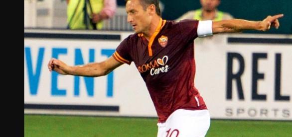 Francesco Totti / Phoito by Attribution-Share Alike 3.0 via wikipedia