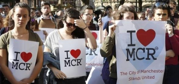 Manchester has shown a strong communal spirit after a harrowing week. (Source: Daily Mail Online)