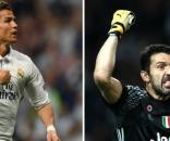 Cristiano Ronaldo y Gianluigi Buffon. Dos iconos frente a frente en Cardiff. Solo uno ganará. Foto: Scoopntes.com