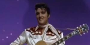 Elvis Presley sings (Let Me Be) Your Teddy Bear from Paramount Pictures' Loving You (wikimedia)