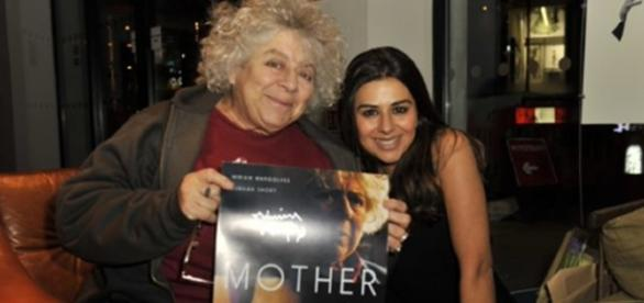 private screening of our film #MOTHER starring Miriam Margolyes photo Twitter @lucazizzari