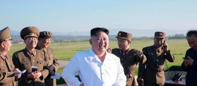 North Korea fires a Scud missile which lands near Japan