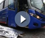 Assaltante morto na tentativa de assalto a ônibus