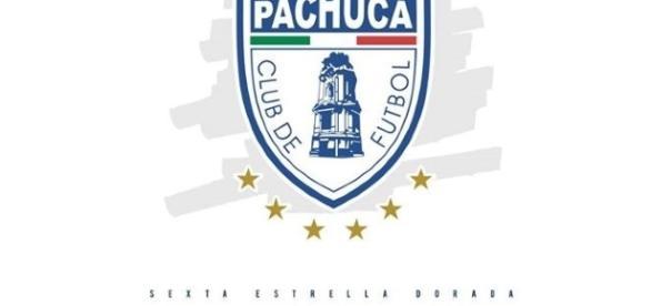 El nuevo escudo del Club Pachuca.