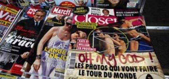 The offending issue of 'Closer' France from 2012 / from 'News18' - news18.com