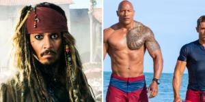 Weekend Box Office: 'Pirates 5' Drowns Dwayne Johnson's 'Baywatch ... - hollywoodreporter.com