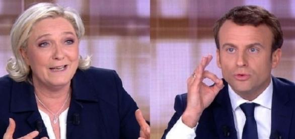 Débat présidentiel entre Marine Le Pen et Emmanuel Macron