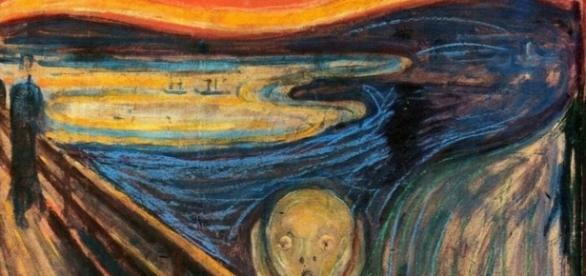 """Edvard Munch's """"The Scream"""" FAIR USE youtube.com Creative Commons"""