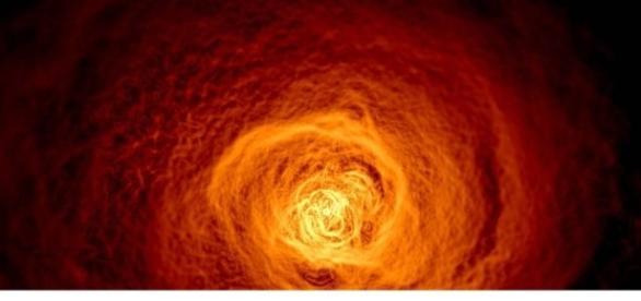Scoperto uno straordinario tsunami cosmico - Tenarpap