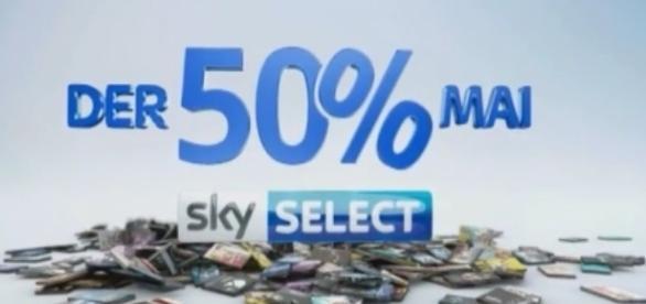 Sky verspricht ab dem 2. Film alle Select-Bestellungen zum halben Preis / Foto: Sky