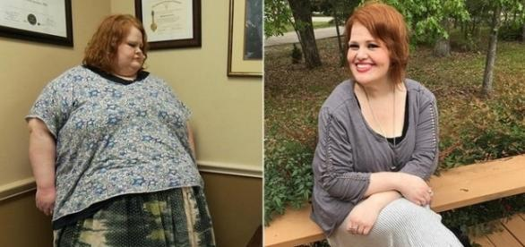 """Source Youtube TLC """"My 600-lb Life"""" Nikki Webster 413-pound weight loss"""