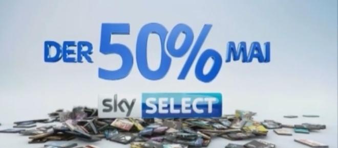 Sky senkt im Mai den Preis: Select-Filme werden billiger!