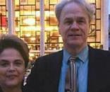 Dilma Rousseff e o historiador James Naylor Green (Foto: Reprodução/Facebook)