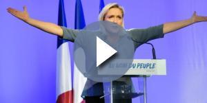 Marine Le Pen, gli ultimi sondaggi la danno al 34 % in vista del ballottaggio per l'Eliseo