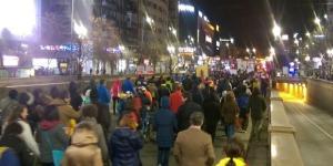 VIDEO Protest impotriva proiectului legii gratierii. 2.000 de ... - hotnews.ro