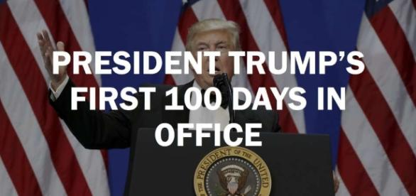 Nearing 100 days, Trump's approval at record lows but his base is ... - sfgate.com
