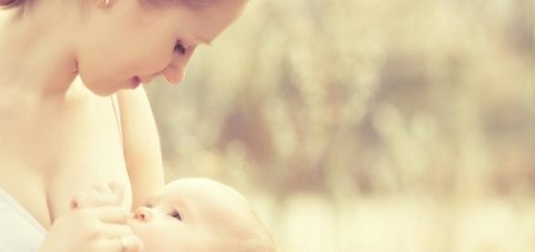 O leite deve ser o principal alimento do bebê desde o seu nascimento. Foto: Shutterstock