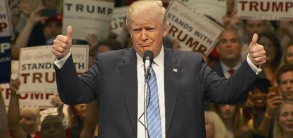 Trump Leads 'Build That Wall' Chant in California - NBC News - nbcnews.com