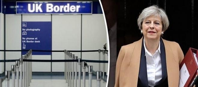 Primul ministru britanic a declarat că libera circulație din UE încetează