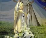 Statua San Giovanni Paolo II nel Satuario