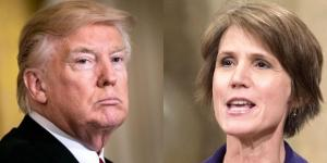 Donald Trump/Sally Yates - Image source: thesource.com