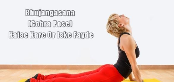 Cobra Pose) 1st yoga pose to reduce belly fat
