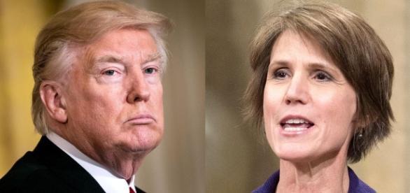 Donald Trump/Sally Yates - Image source: thesource.com