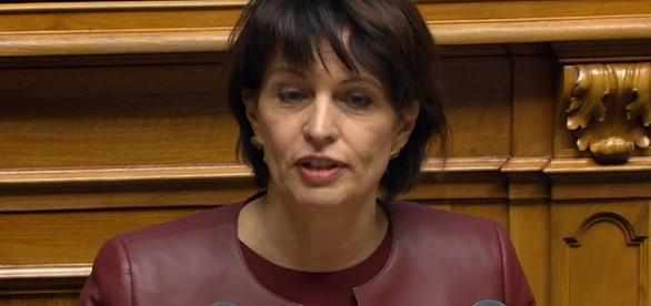Doris Leuthard, presidente della Confederazione Svizzera