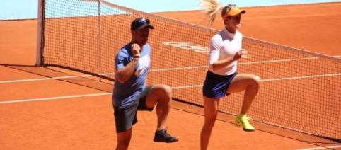 Eugenie Bouchard has had a good Mutua Madrid Open, despire losing her quarter final to Kusnetsova - Picture courtesy of madrid-open.com