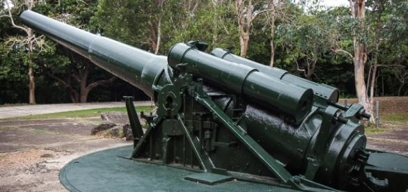 The guns now are silent and their stoic presence hold the memories of lives lost - Corregidor Island, Manila, The Philippines - timetravelturtle.com