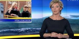 Fakty TVN, Justyna Helcyk, ONR (fot. scrn)