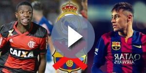 Vinicius Junior y Neymar comparativa