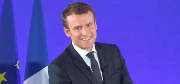 Emmanuel Macron, nouveau président de la République