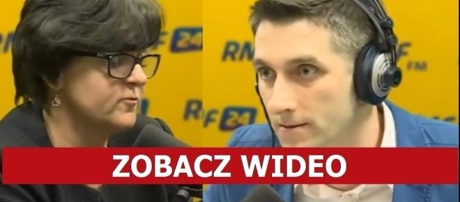 Młody dziennikarz RMF TYM PYTANIEM obnażył Kluzik-Rostkowską i całą PO! [WIDEO]