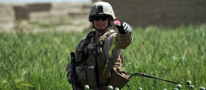 Gli Stati Uniti e la droga afgana