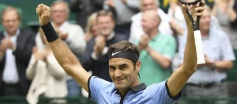 Brazos en alto para Roger: título 92 en su carrera