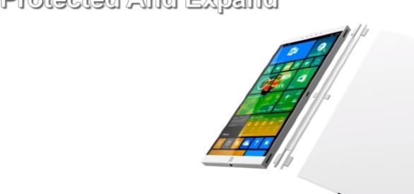 MicroSoft Surface Phone 2017 / screencap from Science and knowledge via Youtube