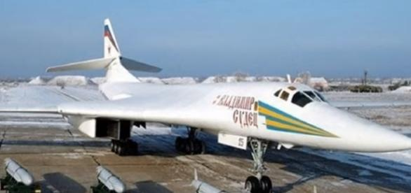 strategic bomber Tu-160m2 screencap from Le0_Nat Via Youtube
