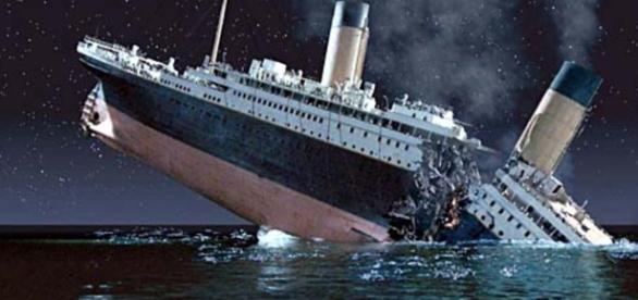 Titanic pode sumir do mapa - Google