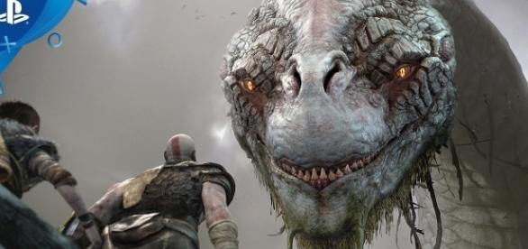 "During this year's E3, developer Sony Santa Monica dropped the newest trailer for the upcoming game ""God of War 4"" (via YouTube/PlayStation)"