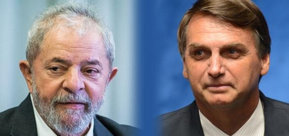 Bolsonaro e Lula são os mais cotados para ser presidente em 2018
