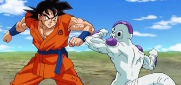 Goku and Frieza stags team versus Sidra's Assassins
