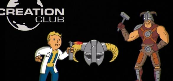 "Bethesda just announced a new feature called Creation Club for all modders of ""Fallout 4"" and ""Skyrim"") (via YouTube/Bethesda Softworks)"