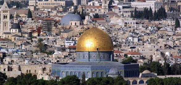 Jerusalem Dome of the Rock (Wikimedia Berthold Werner public domain)