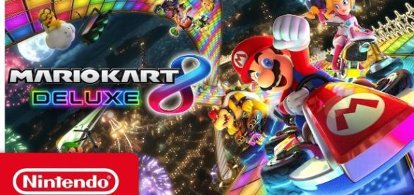 """""""Mario Kart 8 Deluxe"""" is again number one on the Japanese weekly charts (via YouTube/Nintendo)"""