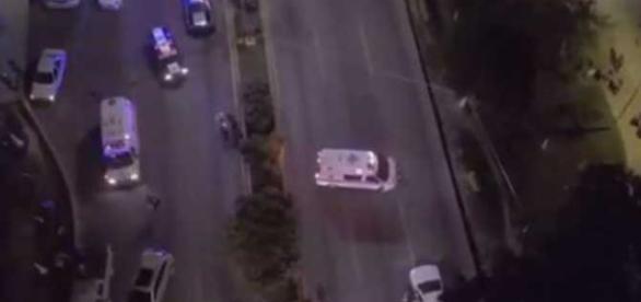 Momento de la persecución, reportada en redes sociales (http://www.excelsior.com.mx)