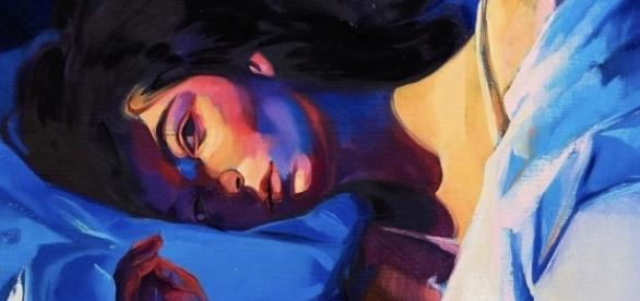 """Source: Lorde's Instagram   Cover of """"Melodrama"""" painted by Sam McKinniss"""