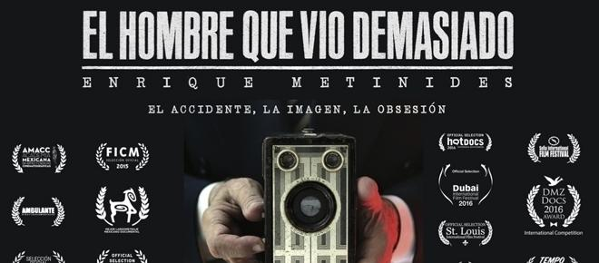 Enrique Metinides, el hombre que vio demasiado