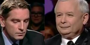 Jarosław Kaczyński kontra Tomasz Lis (źródło: youtube.com).